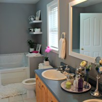 Bathroom Makeover - (On a budget I might add!)