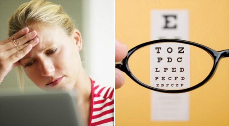 Tugev peavalu piinab? On aeg kontrollida nägemist!