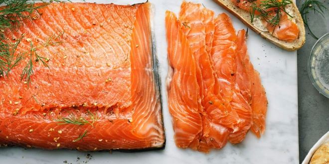 dill cured salmon