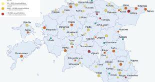 Reoveeuuringu tulemused 26. 30. aprillil. Allikas Tartu Ülikool scaled