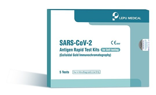 lepu sars cov 2 antigen rapid test kits for self t