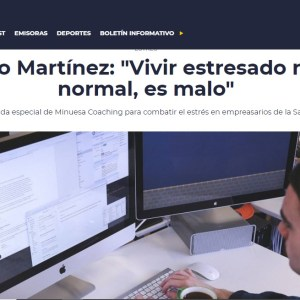 """Jornada gratuita contra el Estrés en """"minuesa Coaching & PNL"""""""