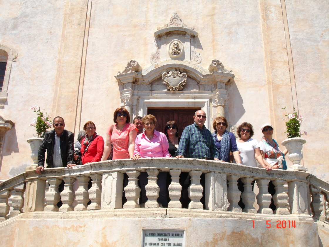Sicily excursion May 2014
