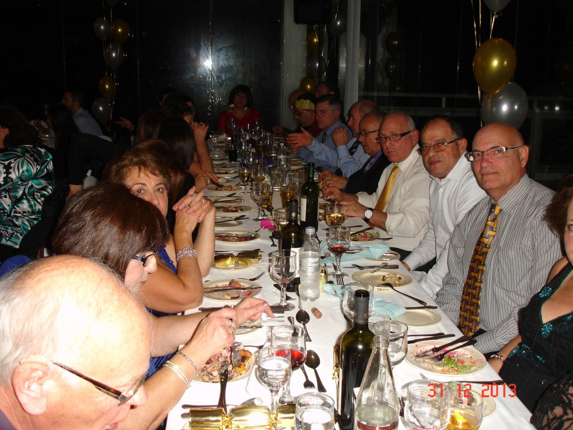 New year's Eve gala dinner at Preluna Hotel 2013
