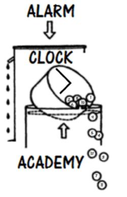 Alarm Clock Academy Minus Plato