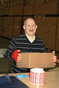 Employment Services Brian with Box