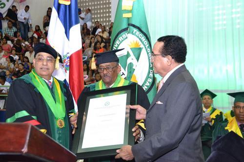 Rector UTESA-Mao destaca competencia egresados universidad