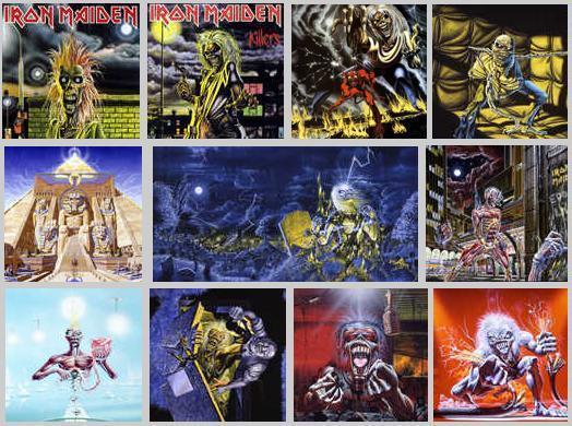 Poll # 2: Capas do Iron por Derek Riggs