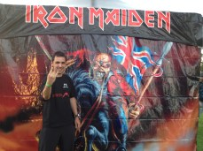 Maiden England Tour Irvine, California, EUA - 09/agosto/2012
