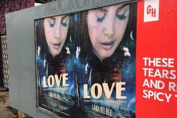 "LANA DEL REY LANÇA OFICIALMENTE O SINGLE ""LOVE"""
