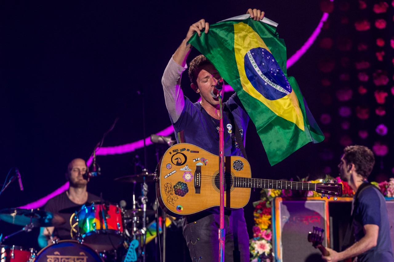 Coldplay finalmente confirma shows no Brasil