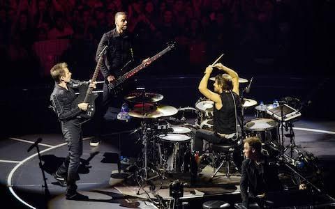 Cinépolis exibirá filme sobre turnê do Muse