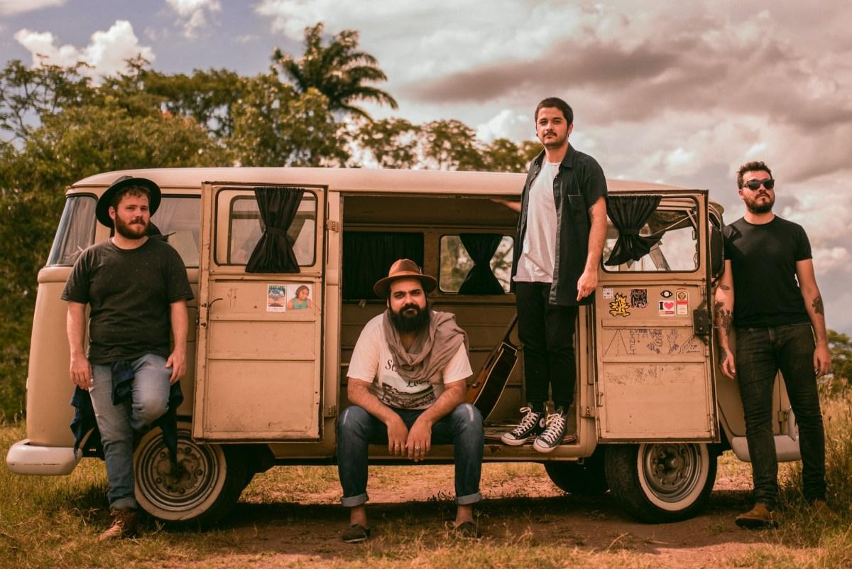 Beeguas alia rock psicodélico à cultura caipira