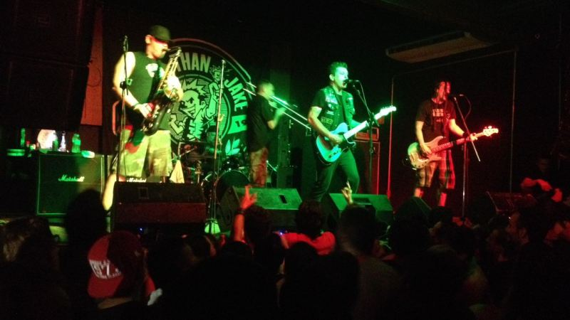 Less Than Jake enlouquece público no Fabrique em SP
