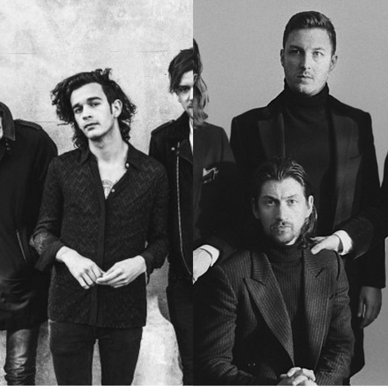 Matty Healy, de The 1975 fala sobre comparações com Arctic Monkeys