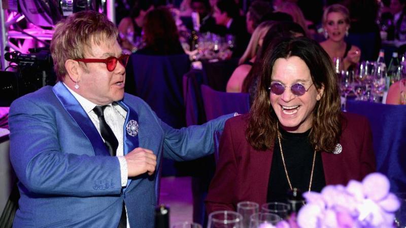 Ozzy Osbourne e Elton John trabalham em parceria