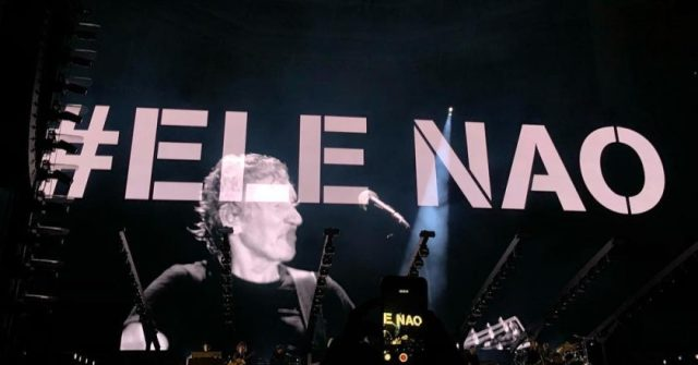 Roger Waters turnê no Brasil