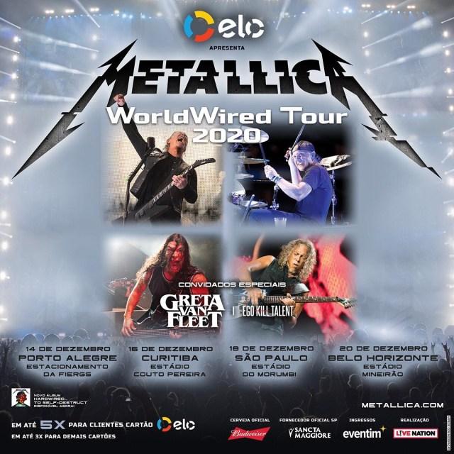 EGO KILL TALENT metallica brasil