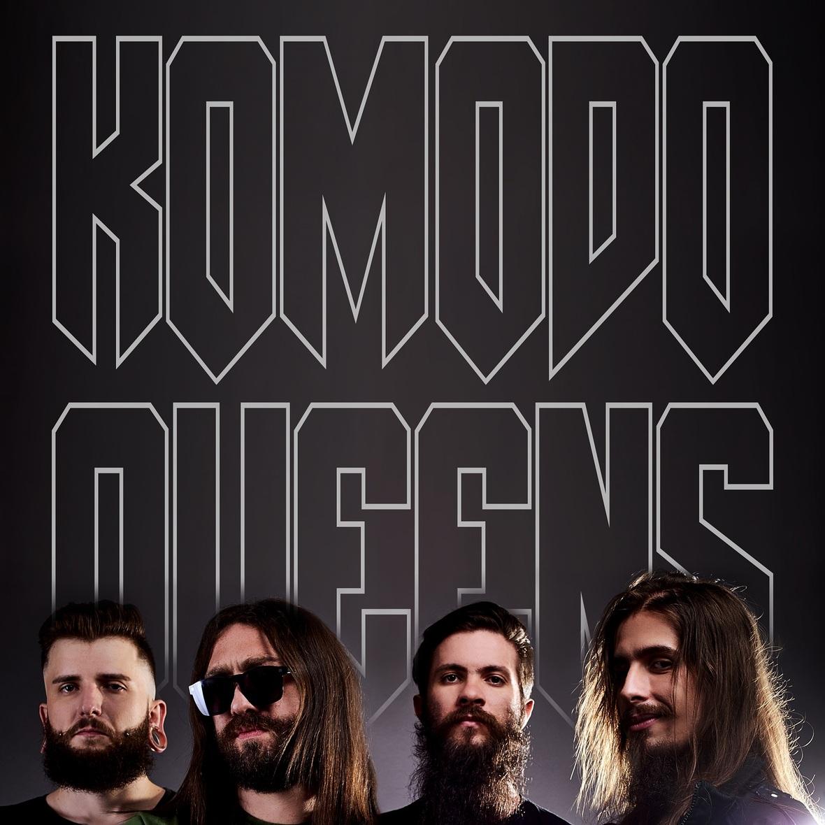 Komodo Queens lança EP de estreia entre o stoner e o heavy metal