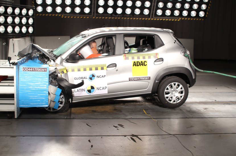 Renault Kwid Latin NCAP