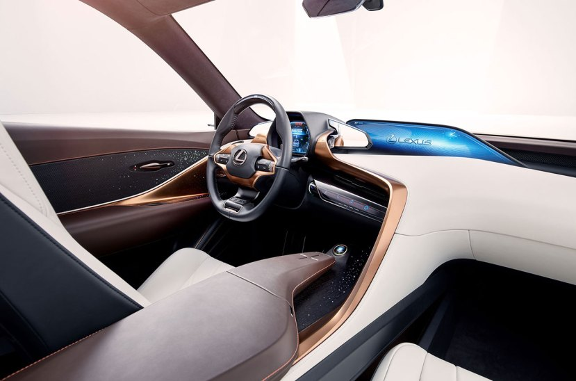Lexus LF1 interior
