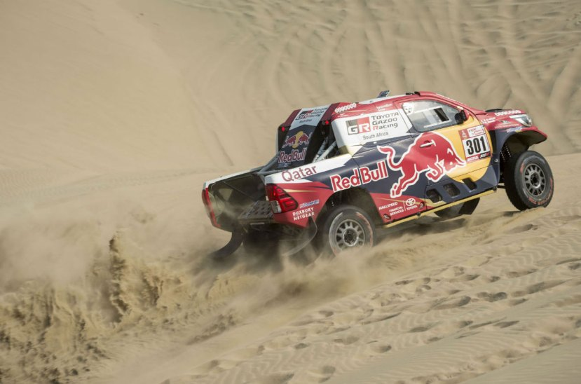 Nasser Al Attiyah Dakar 2018