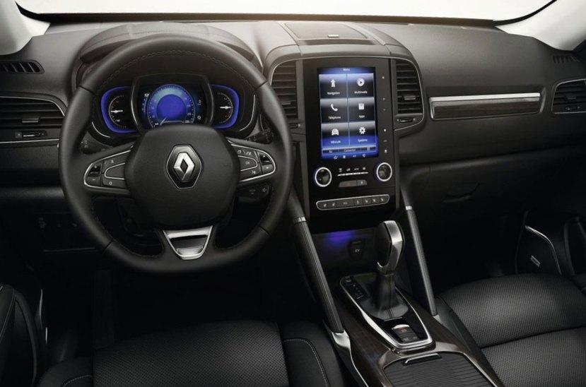 Renault Koleos 2018 interior