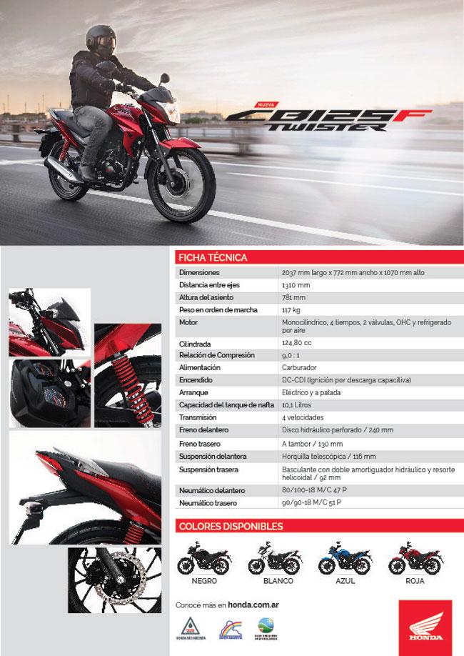 Honda CB125F Twister