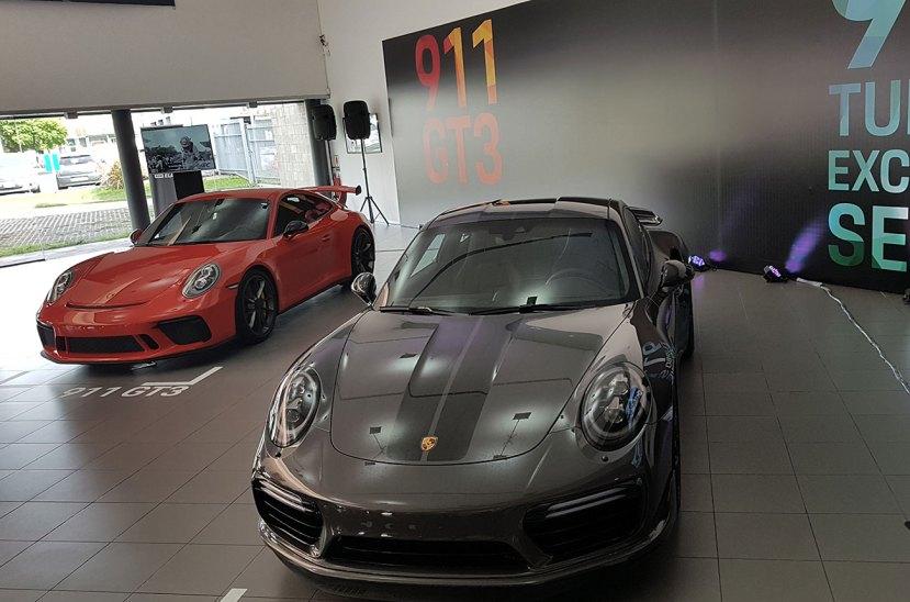 Porsche 911 GT3 y 911 Turbo S Exlisive Series