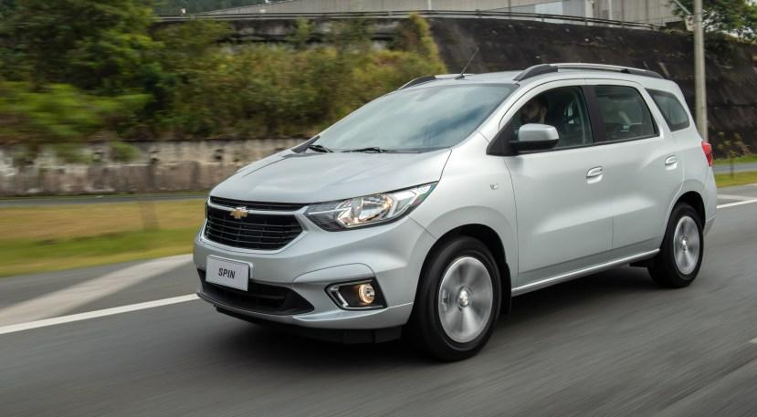 Chevrolet Spin 2021