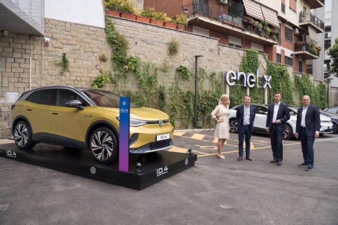Volkswagen y Enel X