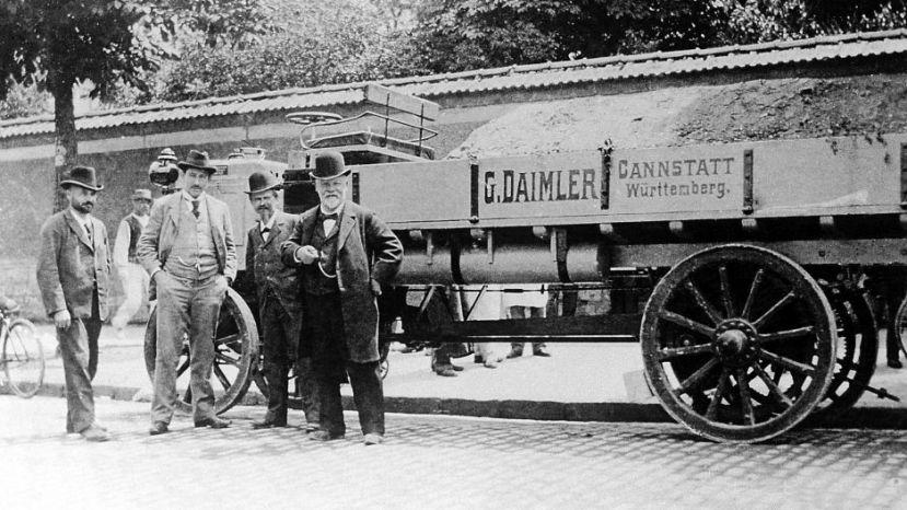 primer camión