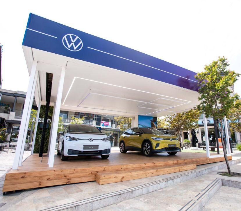 Los eléctricos de Volkswagen se muestran en Nordelta
