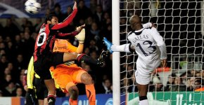 William Gallas in Tottenham Hotspur vs AC-Milan 0-0, 9 martie 2011