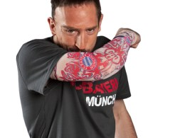 Frank Ribery - catalog primavara 2011 - Bayern Munchen