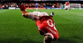 Wayne Rooney in Chelsea vs Manchester United, UCL, 6 aprilie 2011