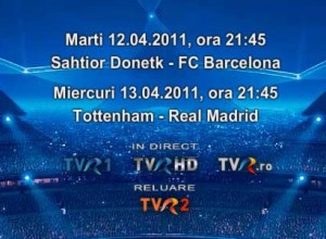 program tvr Champions League