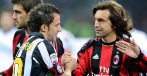 Andrea Pirlo la Juventus