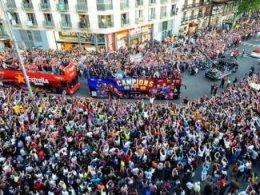 Barcelona dupa al treilea titlu consecutiv