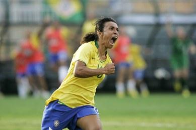 "Marta, so called ""Pele in a skirt"""