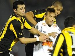 Neymar, Santos castiga Cupa Libertadores