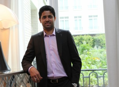 Nasser Al-Khelaifi, presedintele PSG
