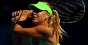 Maria Sharapova Australian Open 2012