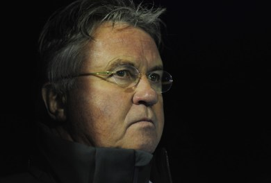 Guus Hiddink antrenor la Anzi