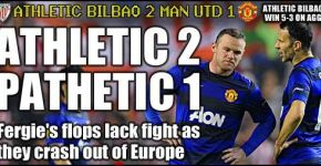Atheltic vs Manchester United via The Sun