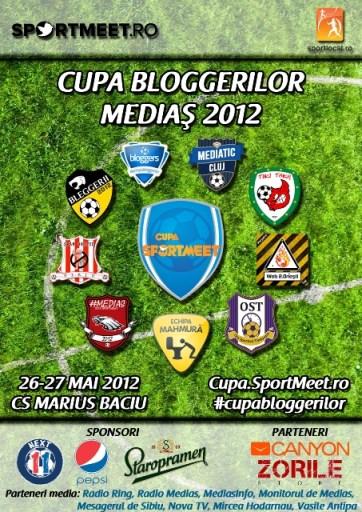 Cupa Bloggerilor Medias 2012