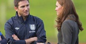 Lampard staring at Kate