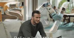 David Beckham Sky Sport