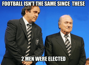 Blatter Platini World Cup