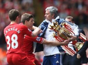 Liverpool v Chelsea Mourinho Gerrard Flanagan
